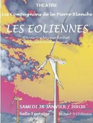 Les Éoliennes d'Anne-Frédérique Rochat | Compagnons de la Pierre Blanche