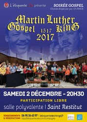 Chorale gospel  - en hommage à Martin Luther  King