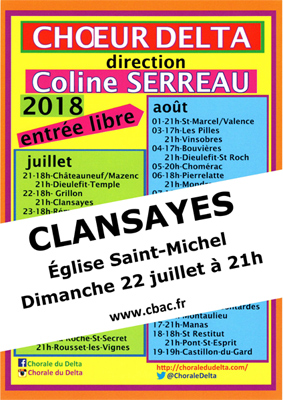 2018 Choeur Delta Clansayes COUL